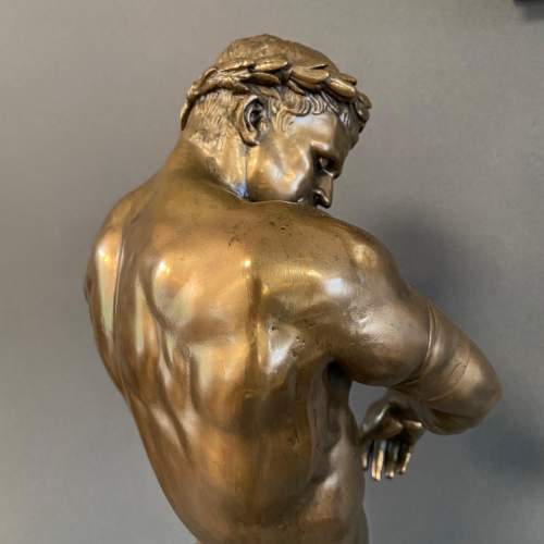 Silvered Bronze of a Roman Gladiator image-5