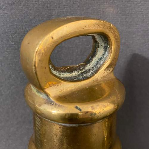 A Set of Four Brass Bell Weights image-5