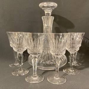 Royal Doulton Cut Glass Decanter Set