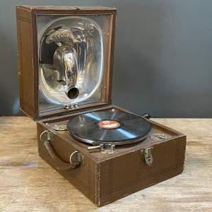 Decca 1940s Vintage Picnic Gramophone