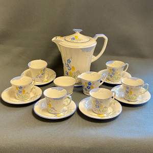 1930s Crown Devon Coffee Set