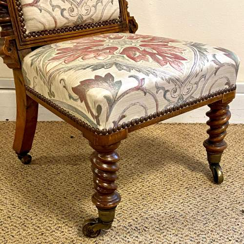 Victorian High Back Childs Chair image-4