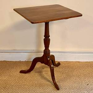 George III Rectangular Tilt Top Wine Table
