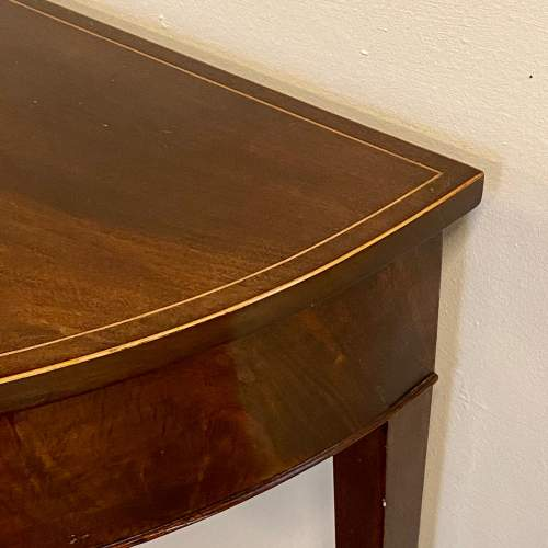 Pair of 18th Century Demi Lune Side Tables image-6