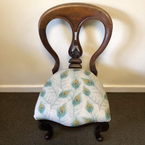 Victorian Balloon Back Chair image-2