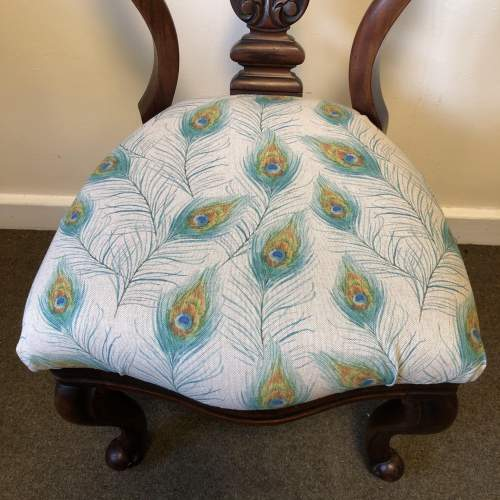 Victorian Balloon Back Chair image-6