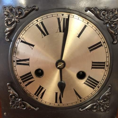 Edwardian Inlaid Mantel Clock image-3