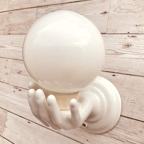 Ceramic Hands Wall Lights image-4