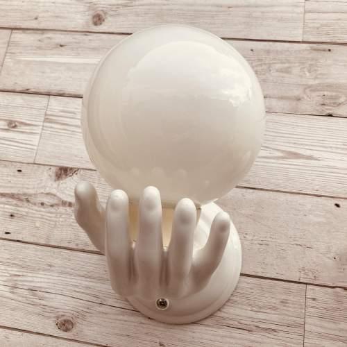Ceramic Hands Wall Lights image-6