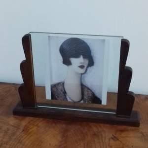 Large Art Deco Photo Frame