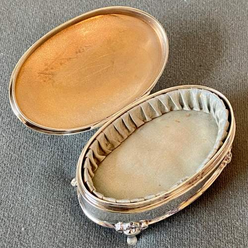 Early 20th Century Walker and Hall Silver Ring Box image-3