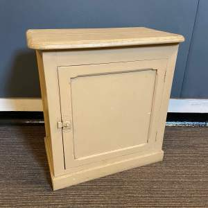 Vintage French Painted Cupboard