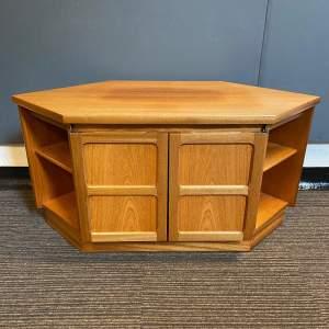 Retro Nathan Corner Cupboard for TV