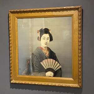 Late 19th Century Japanese School Portrait
