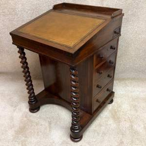 Early 19th Century Rosewood Davenport