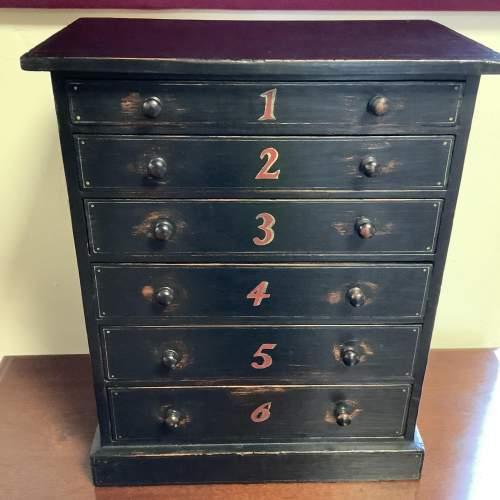Victorian Specimen Cabinet image-1