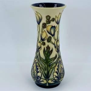 Moorcroft Moonkshood Vase by Philip Gibson
