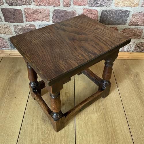 Victorian Oak Joint Stool circa 1860 image-3