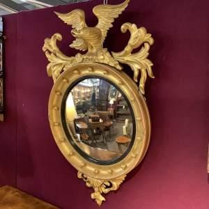 Stunning Regency Convex Mirror