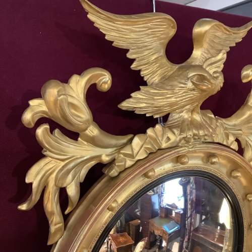 Stunning Regency Convex Mirror image-2