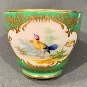 19th Century Coalport Coffee Cup