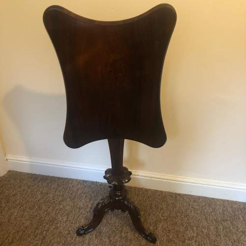Early 19th Century Rosewood Tilt Top Table image-1