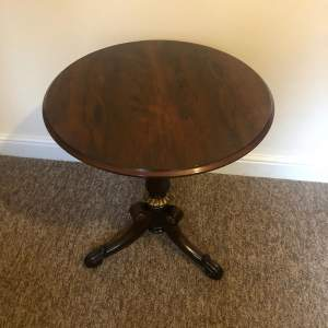 Early 19th Century Rosewood Wine Table