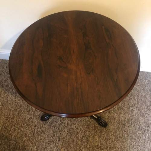 Early 19th Century Rosewood Wine Table image-2
