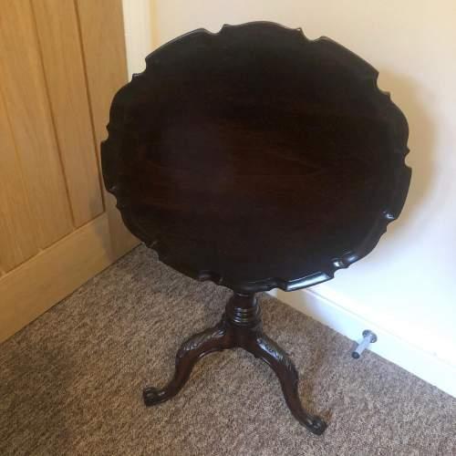 Victorian Mahogany Pie Crust Table image-2
