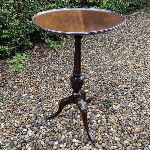 Large Mahogany Wine Table image-1