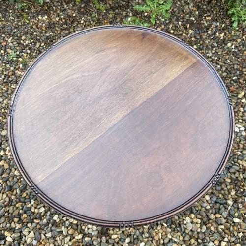 Large Mahogany Wine Table image-2