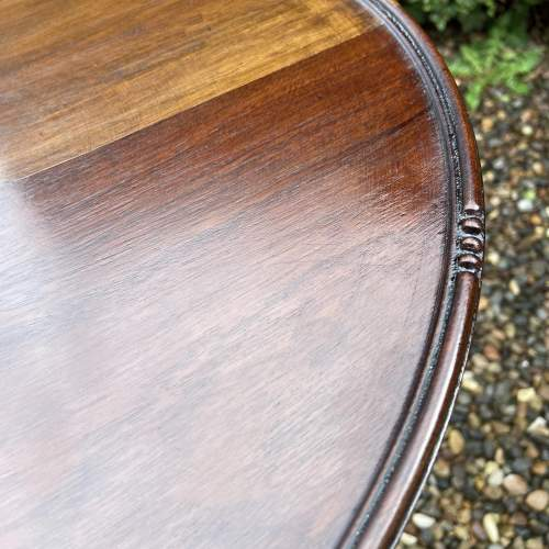 Large Mahogany Wine Table image-3