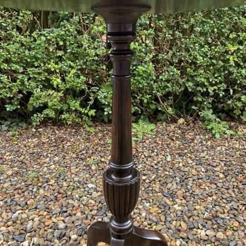 Large Mahogany Wine Table image-6