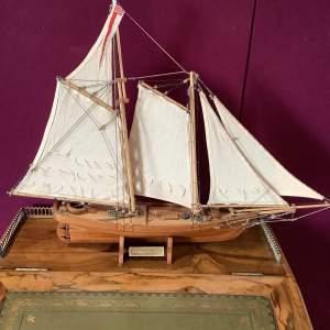 Beautiful Model Ship of America 1851