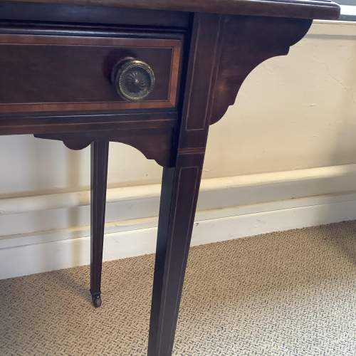Edwardian Inlaid Mahogany Writing Table image-5