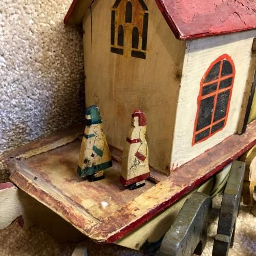 Vintage Folk Art Noahs Ark image-2