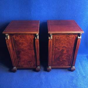 Pair of Regency Period Bedside Cabinets