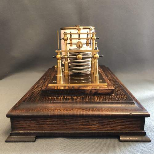 Early 20th Century Brass Barograph image-3