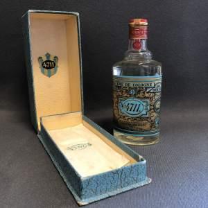 Boxed Bottle of Glockengasse 4711 Blue and Gold Eau De Cologne