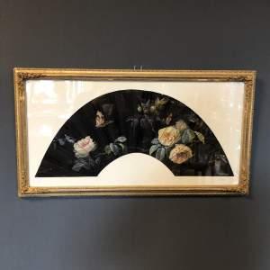 F De Valeriola Design for a Fan - Framed