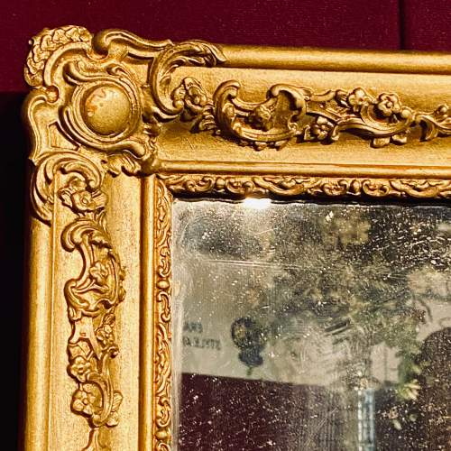 Victorian French Giltwood Wall Mirror image-3