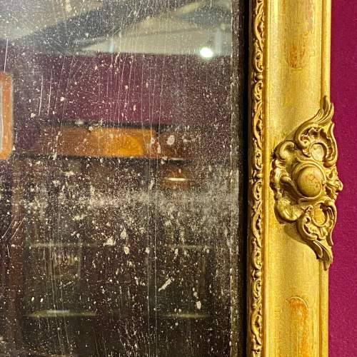 Victorian French Giltwood Wall Mirror image-4