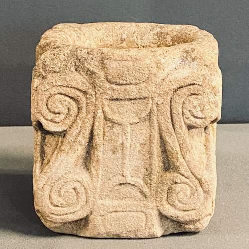17th Century Gloucestershire Limestone Mortar image-2