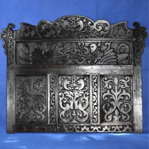 17th Century and later Oak Panel