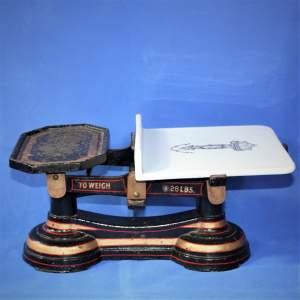 A Victorian Set of Butchers Shop Scales