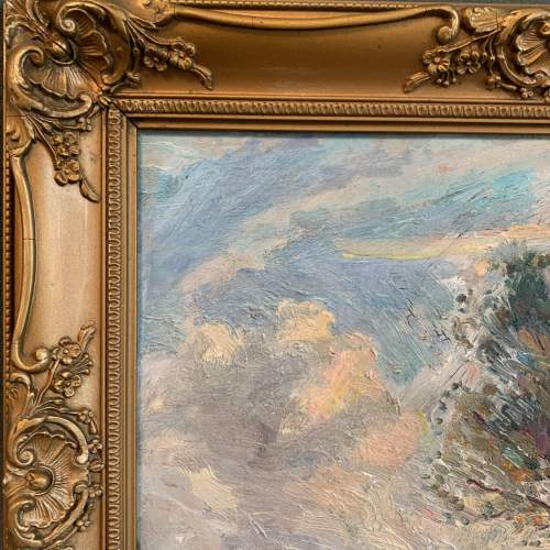 Early 20th Century Oil on Board in the manner of Armesby Brown image-4