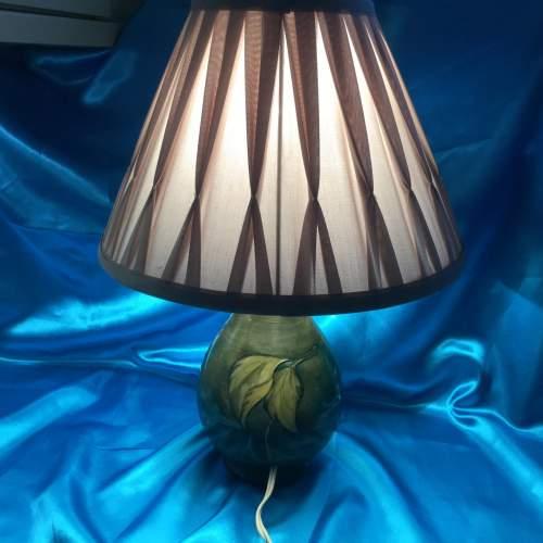 Large Moorcroft Pottery Table Lamp image-2