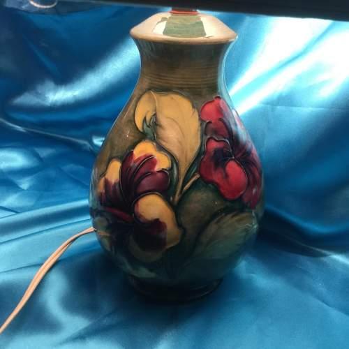 Large Moorcroft Pottery Table Lamp image-3