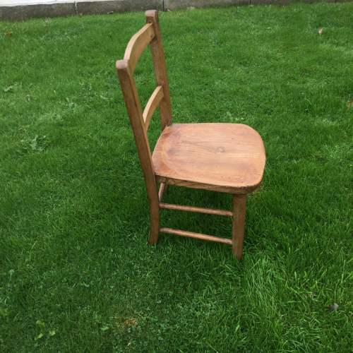 Childs Rustic Elm Chair image-2