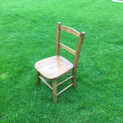 Childs Rustic Elm Chair image-3